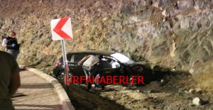 Şanlıurfa'da otomobil kayalıklara çarptı, 1 ölü