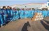 500 Temizlik Personeline Gıda Yardımı Yapıldı