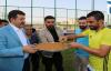 Ekinci'den Futbolculara Tatlı İkramı