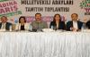 HDP Urfa adaylarını tanıttı