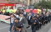 Şanlıurfa'da Kobani yürüyüşü yapıldı