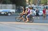 Suriyelilerin motosiklet keyfi