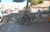 Urfa'da kaldırımı yaya trafiğine kapattı