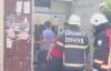 Urfa'da parkın içersinde bulunan trafo'da yangın çıktı