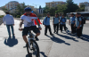 Urfalı bisikletçi teröre hayır için pedal çevirecek