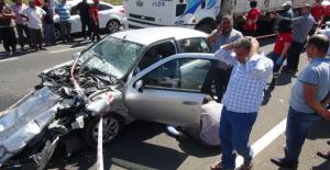 Şanlıurfa'da zincirleme kaza, 2 ölü, 3 yaralı