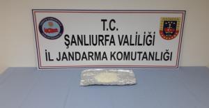 Şanlıurfa'da uyuşturucu operasyonu, 1 gözaltı