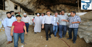 Eyyübiye'deki Mağaralar Turizm Kazandırılacak