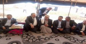 Şanlıurfa  Milletvekilleri Taziye Çadırında
