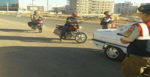 Urfa'da 989 Motosiklet Kontrol Edildi