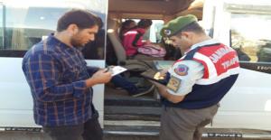 Urfa'da 30 Okulun Servisi Denetlendi