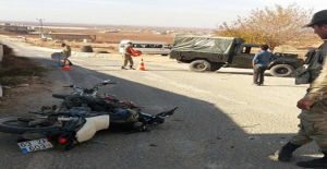 Urfa'da İki Motosiklet Çarpıştı, 2 Yaralı