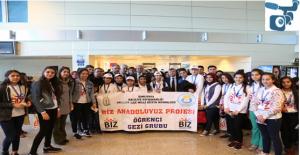 Urfalı Öğrenciler İstanbul Ve Trabzon'a Uğurlandı.
