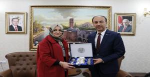 Cumhurbaşkanlığı Baş Danışmanı Gülşen Orhan Şanlıurfa'yı Ziyaret Etti