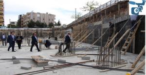 Haliliye'de Gençlik ve Kültür Merkezinin İnşaatı Sürüyor