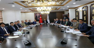 Urfa'da Seçim Güvenlik Toplantısı Yapıldı