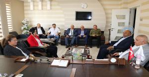 AK Parti MKYK Üyesi Vildan Polat TÜMSİAD Şanlıurfa Şubesini ziyaret etti