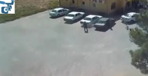 Harran'daki Cinayet Görüntüleri Güvenlik Kamerasına Yansıdı