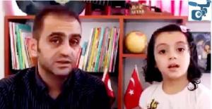 Suriyeli Baba, Türkçe Bilen Kızıyla Sağduyu Çağrısında Bulundu