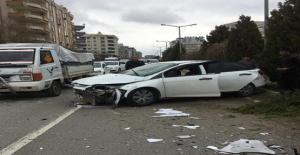 Karaköprü'de Trafik Kazası, 1 Yaralı