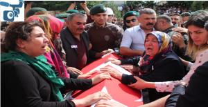 Şehit Komiser Yardımcısı Gözyaşları İçinde Memleketine Uğurladı