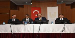 Vali, Kaymakam ve Belediye Başkanı Muhtarları Dinledi