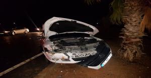Şanlıurfa'da İki Otomobil Çarpıştı, 1 Yaralı