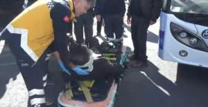 Yolcu Yaralandı
