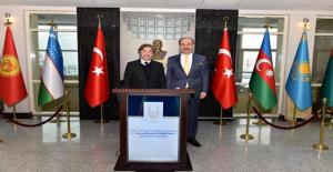 Kültür ve Turizm Bakan Yardımcısı  Urfa Valiliğini Ziyaret Etti