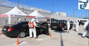 Büyükşehir, Vatandaşların Araçlarını Ücretsiz Dezenfekte Ediyor