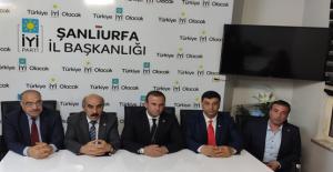Şanlıurfa'da 5 siyasi parti il başkanı toplantı
