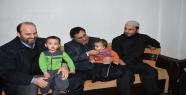 Dokuz çocuklu aileye yardım etti