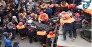 Enkaz altında kalan işçi çıkarıldı