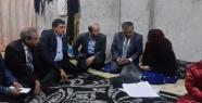 Erdoğan mültecileri ziyaret etti