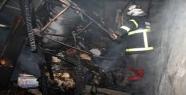 Karı koca yangında öldü