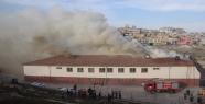 Okul'da Korkutan Yangın