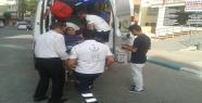 Şanlıurfa'da kaza ile bir polis yaralandı