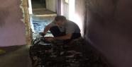 Suriyeli ailenin iki evi aynı anda yandı