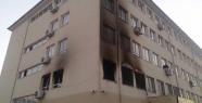 Suruç'ta okul kundaklandı