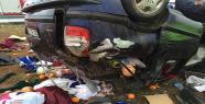 Urfa'da otomobil devrildi, 3 ölü, 5...