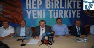Urfa'dan Davutoğlu'na destek