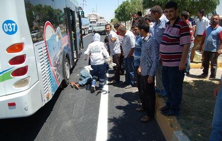 Trafik Kazası:1 Kişi Yaralandı