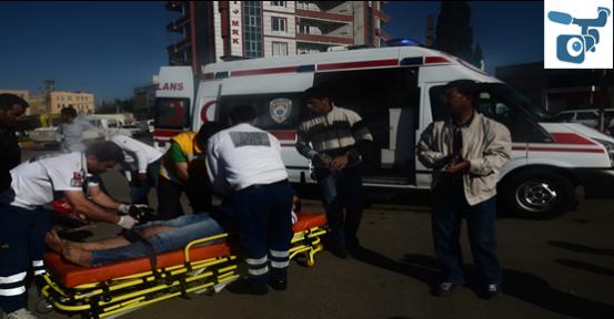Trafik Kazası; 1 Yaralı