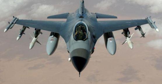 Türk F-16'ları Şam'a giden uçağı indirdi