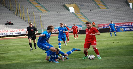 Türkiye A2 4-4 Slovakya A2