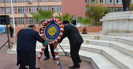 Üniversite'de Atatürk anıldı