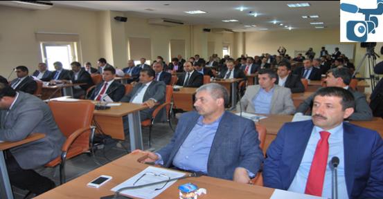 Urfa belediye encümen meclisi açıldı