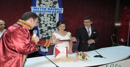 Urfa BİK'in bekarı evlendi