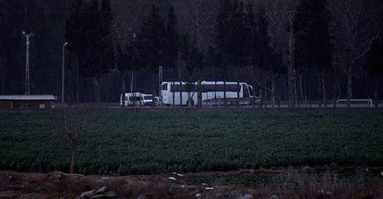 Urfa otobüsünde Tüfek Mermisi Ele Geçirildi