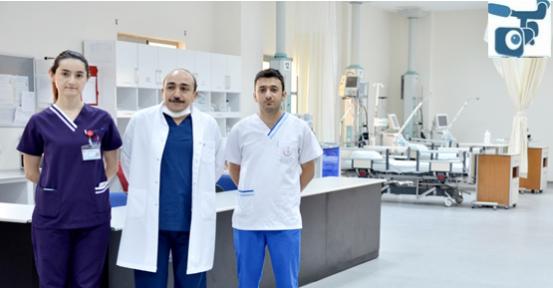 Urfa'da13 yataklı Genel Yoğun Bakım Ünitesi hizmete açıldı